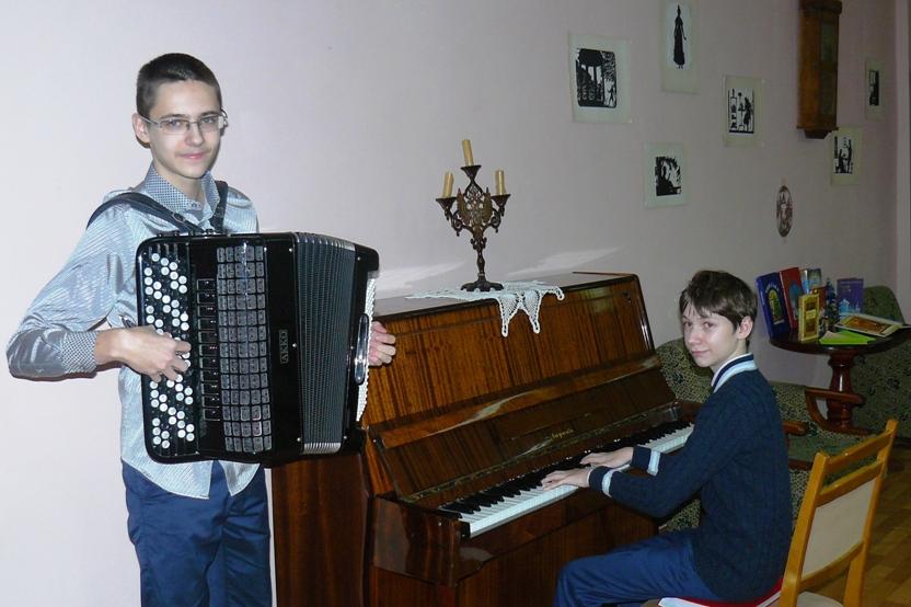 Музыкальная гостиная от клуба Вдохновение