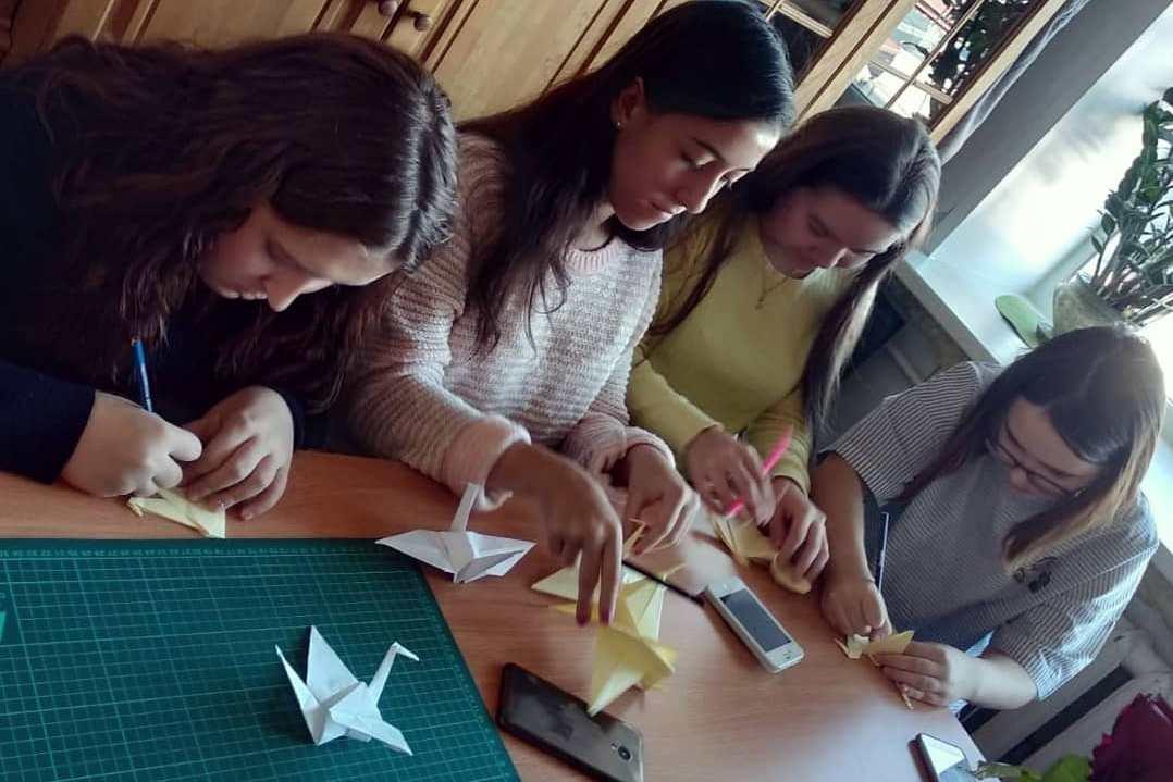Всероссийская акция Оригами за мир